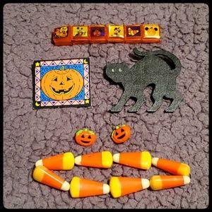 Halloween jewelry 5 piece lot